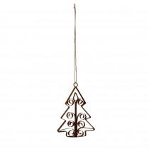 PTMD Kerst hanger kerstboom L-8720014311962-20