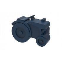 Blafre lunchbox tractor (rond model met vakverdeling) donker blauw-7090015483922-20