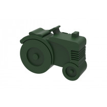 Blafre lunchbox tractor groen (rond)-7090015483946-20