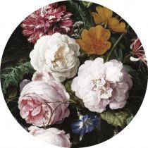 KEK Wallpaper Circle, Golden Age Flowers diameter van 142,5 of 190 cm-8719743885479-20