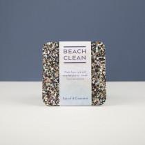 Love Liga glasonderzetter set van 4 Beach Clean-5060618835222-20