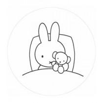 KEK Wallpaper Circle, Behangcirkel Nijntje gaat slapen, ø 190 cm-8719743886032-20