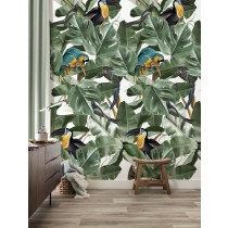KEK Amsterdam Behang Botanical Birds Wit-8719743886698-20
