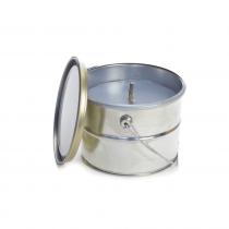 Rustik Lys Buitenkaars Staal Blauw Bucket 18x14cm-4752046064961-20