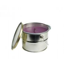 Rustik Lys Buitenkaars Lavender Bucket 18x14cm-4752046061007-20