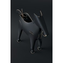 Vacavaliente Recycled Leather Organiser Horse Black-7798200750513-20