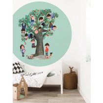 KEK Wallpaper Circle, Behangcirkel Apple Tree, ø 190 cm-8719743885882-20
