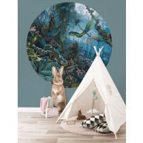 KEK Wallpaper Circle, Behangcirkel Tropical Landscape, ø 190 cm-8719743885936-20