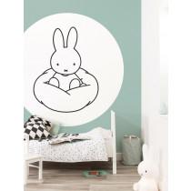 KEK Wallpaper Circle, Behangcirkel Nijntje Wolk, ø 190 cm-8719743886049-20