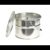 Rustik Lys Buitenkaars cool grey Bucket 18x14cm-4752046045922-20