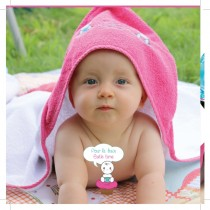 Cupcake Babies babybadje, roze badje/ roze badcape en blauw badeendje-635346413087-20