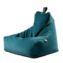 Extreme Lounging b-bag mighty-b Indoor Suede Teal-5060331725350-20