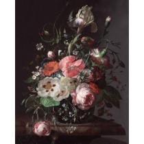 KEK Wallpaper Panel, Golden Age Flowers 142,5x180cm-8719743885547-20
