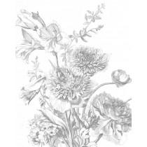 KEK Wallpaper Panel, Engraved Flowers 124,5x180cm-8719743885622-20