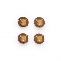 Atelier Pierre magneten Hakuna Leeuw 4 stuks-7777000091163-20