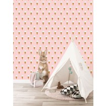 KEK Amsterdam Behang Iijsjes Roze, 97.4 x 280 cm-8719743885844-20