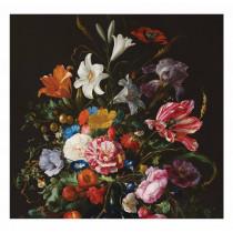 Kek Amsterdam Fotobehang Golden Age Flowers 5, 292.2 x 280 cm-8719743880252-20