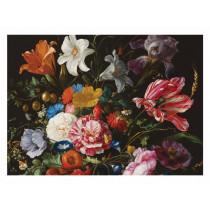 Kek Amsterdam Fotobehang Golden Age Flowers 6, 389.6 x 280 cm-8719743880276-20
