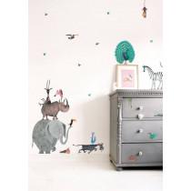 Kek Amsterdam Fiep Westendorp muurstickers Animals XL, 85 x 119 cm-8719743880214-20