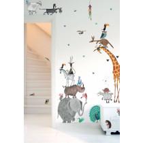 Kek Amsterdam Fiep Westendorp muurstickers Animals XL, 97 x 180 cm-8719743880221-20