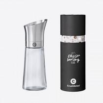 Crushgrind C Kala kruidenmolen RVS/ glas 17cm-5712898000844-20