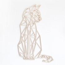 FBRK. Kat 44 x 35 cm Koper Metallic Geometrische dieren-8720094352213-20