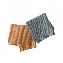 OYOY schoonmaakdoek Stringa – Katoen – Caramel/ Mint 2 stuks-5712195008475-20