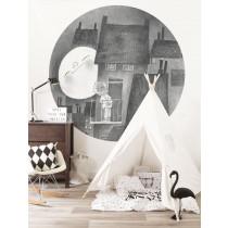 KEK Wallpaper Circle, Behangcirkel Moonlight, ø 190 cm-8719743885967-20