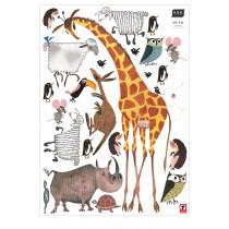 Kek Amsterdam Fiep Westendorp muurstickers Animals XL, 85 x 119 cm-8718754017923-20