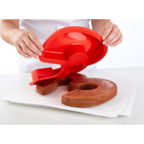 Lekue Bakken Silicone Flexivorm Rood nummer 3 1700ml-8420460002031-20