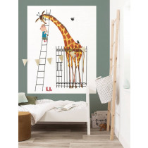 KEK Wallpaper Panel, Behangpaneel Giant Giraffe, 142.5 x 180 cm-8719743886162-20
