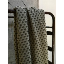 Stapelgoed Plaid Dots Army 100x150cm-7439640868887-20