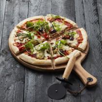 Point Virgule set van pizzames met serveerplank uit acaciahout-5420059833117-20