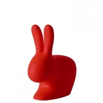 Qeeboo rabbit Chair Baby Red-8052049050487-20