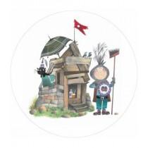KEK Wallpaper Circle, Behangcirkel Little Lord, ø 190 cm-8719743886063-20