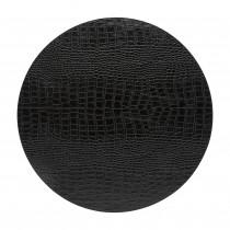 Costa Nova leatherlook placemat Club rond zwart-5606739960940-20
