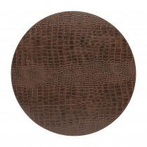Costa Nova leatherlook placemat Club rond caramel-5606739960964-20
