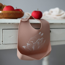 By Lille Vilde silicone baby slab Flower Bunny-5714302000077-20