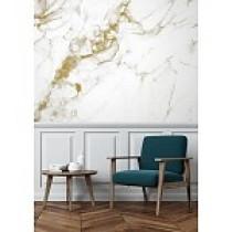 Kek Amsterdam Behang Marble wit-goud 4 banen 194,8x280-8719743884830-20