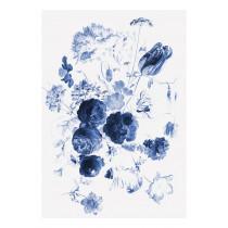 KEK Amsterdam Fotobehang Royal Blue Flowers I, 4 vellen-87187540165991-20