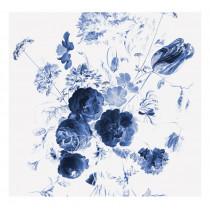 KEK Amsterdam Fotobehang Royal Blue Flowers I, 6 vellen-8718754016698-20