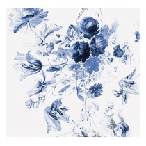KEK Amsterdam Fotobehang Royal Blue Flowers III, 6 vellen-8718754016711-20