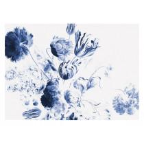 KEK Amsterdam Fotobehang Royal Blue Flowers II, 8 vellen-8718754016766-20