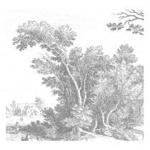 Kek Amsterdam Behang Engraved Landscape V-8718754018388-20