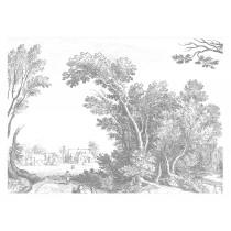 Kek Amsterdam Behang Engraved Landscape V-8718754018432-20