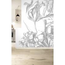 Kek Amsterdam behang Engraved Flowers I 194.8x280cm-8718754018449-20