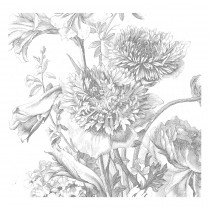 Kek Amsterdam Behang Engraved Flowers IV 292.2x280cm-8718754018517-20