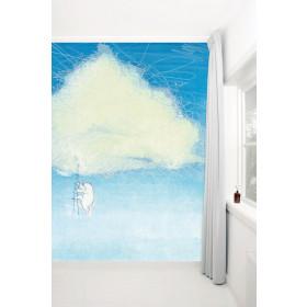 KEK Amsterdam Fotobehang klimmen naar een wolk