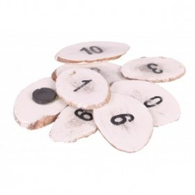 Stapelgoed magneetjes nr 1-10