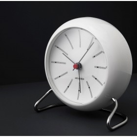 Arne Jacobsen City Hall Table clock wit 11cm